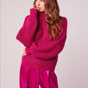 Band of Gypsies Sweaters - Band of Gypsies | Pink Knit Pullover Sweater